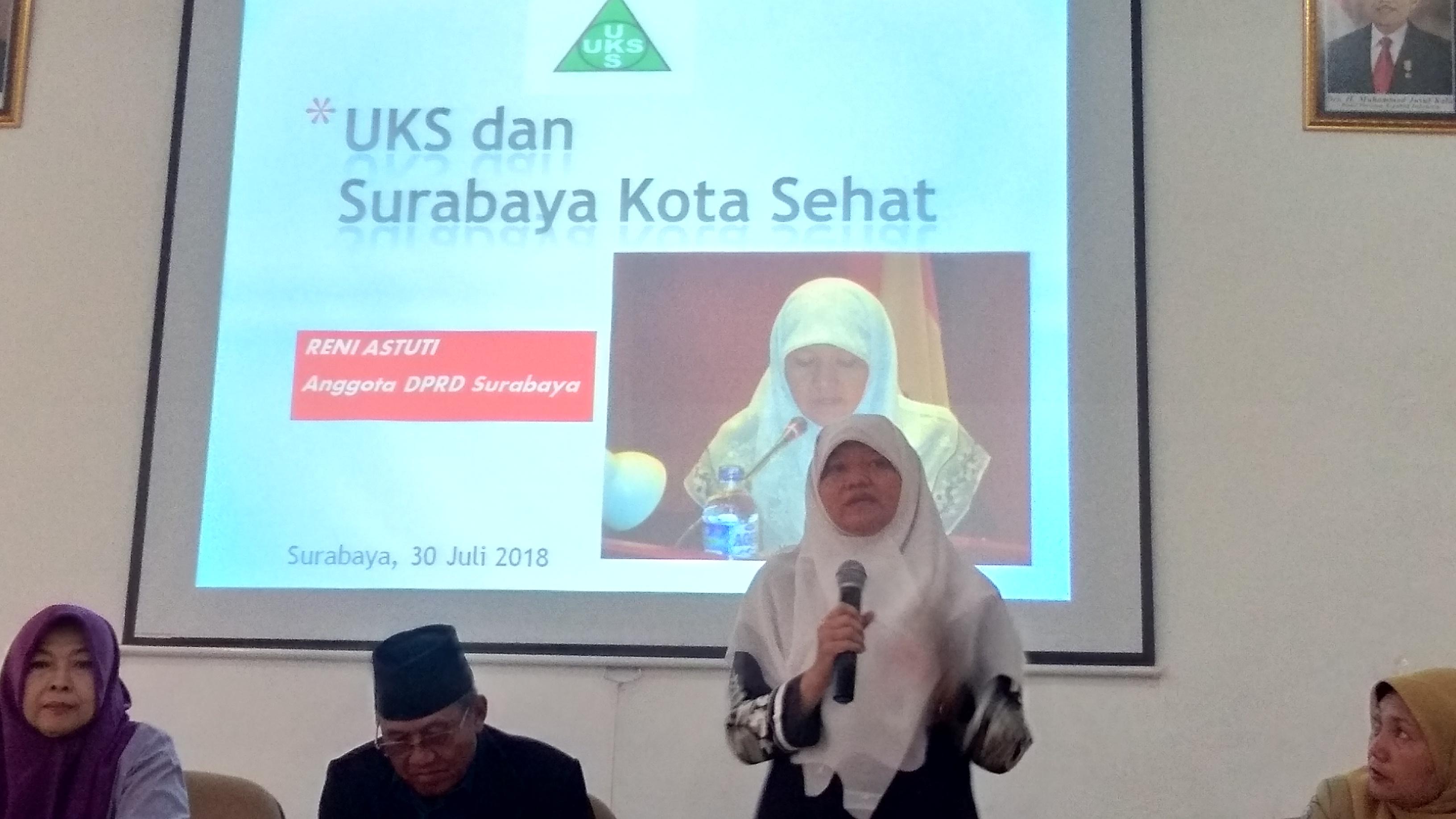 525 Ribu Anak Kunci Capaian Surabaya Kota Sehat