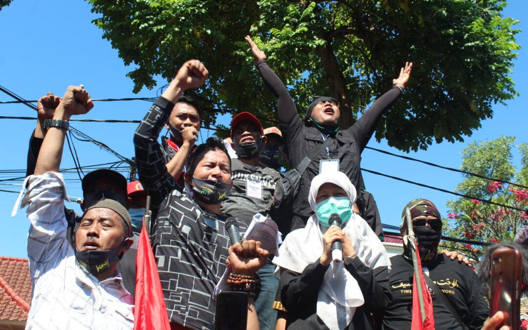 Reni Astuti Kawal Aspirasi Aliansi Pekerja Seni Kota Surabaya Hingga Pemkot Berikan Kepastian Dapat Terima Job dengan Protokol Kesehatan