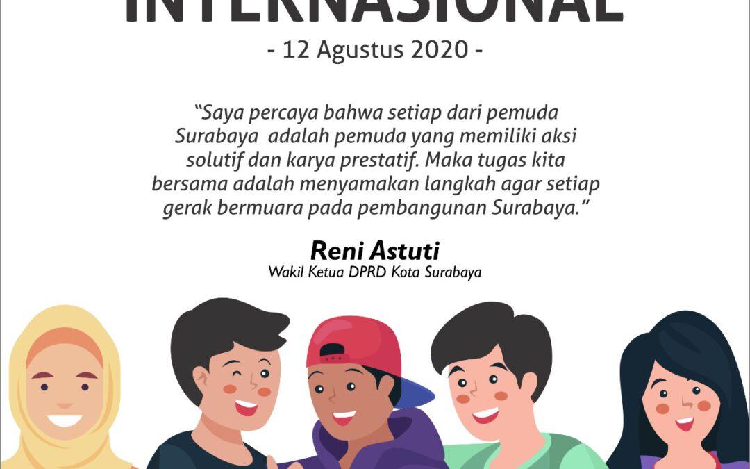 Peringati Hari Pemuda Internasional, Bersama Wujudkan Youthful Surabaya
