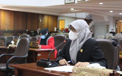 Reni Astuti Berikan Catatan Dalam Rapat Paripuna PAK APBD 2019