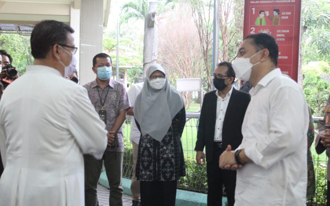 Pimpinan DPRD Bersama Forkopimda Surabaya Pastikan Keamanan Gereja Jelang Ibadah Paskah