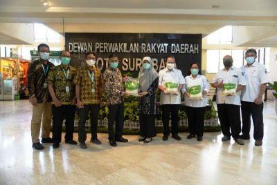 Sambang DPRD Surabaya, Laznas LMI Ajak Kolaborasi Kerjasama Pentahelix