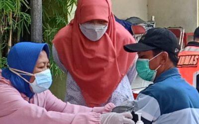 Vaksinasi Serentak di 18 Rusun, Reni Astuti Apresiasi Animo Warga