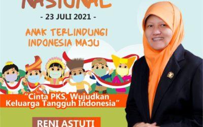Dorong Perlindungan Anak di Moment HAN, Reni Astuti: Pantau dan Dampingi Anak Yang Orangtuanya Terpapar